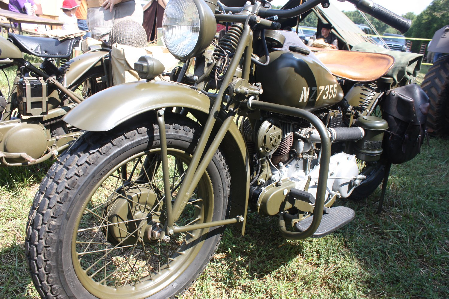 1941 Model 741 B Indian Military Motorcycle Hampton